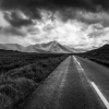 Vanishing Point - Galway Mountains