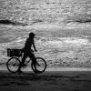 Boy and Bike, Atlantic Coast, Gambia